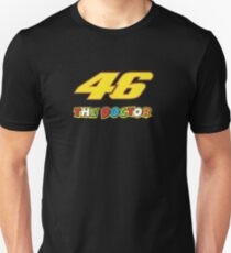 46 the doctor valentino rossi Unisex T-Shirt