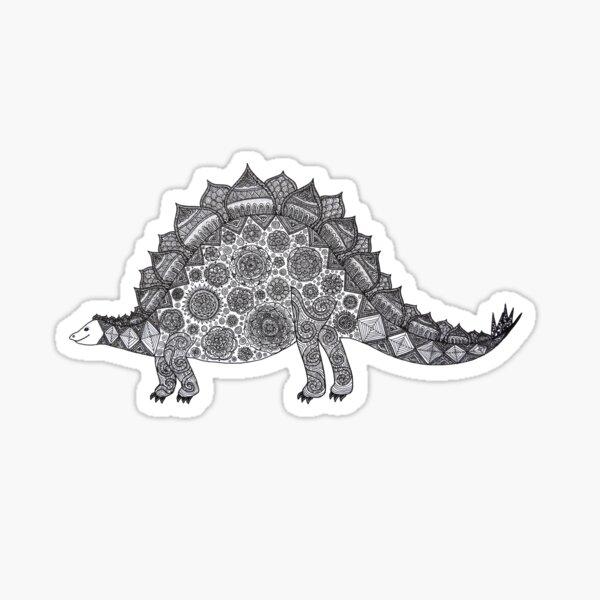 Steffie the Stegosaurus  Sticker
