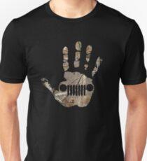 Jeep handprint Unisex T-Shirt