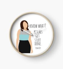 Know What? - Tina Fey Clock