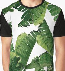 Bananenblätter Grün Grafik T-Shirt