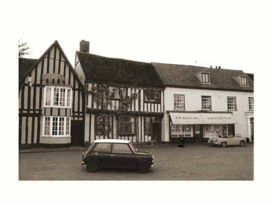 Old Houses Old Cars by James Stevens