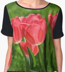Spring Thoughts Chiffon Top