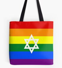 GAY PRIDE Israel Flagge Tote Bag