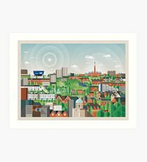 Edgbaston Art Print