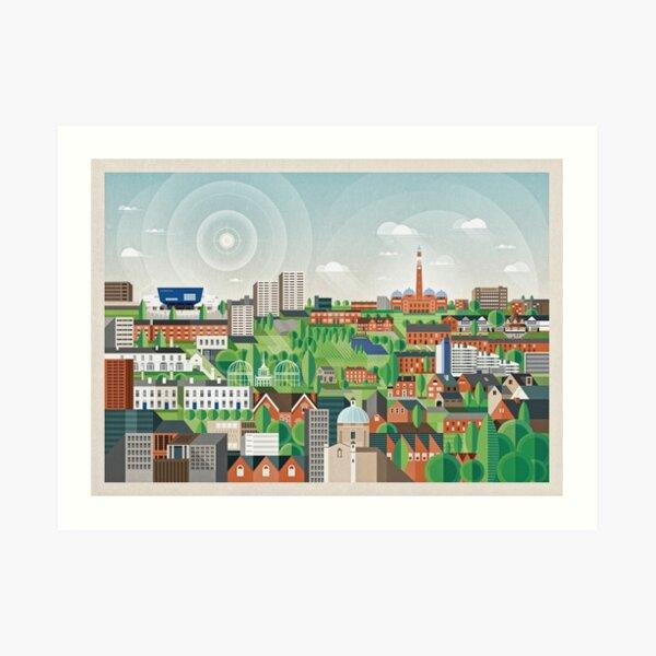 Edgbaston Art Print
