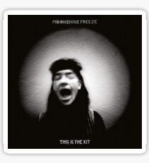 This Is The Kit – Moonshine Freeze - LP vinyl artwork - Folk World Country music Sticker