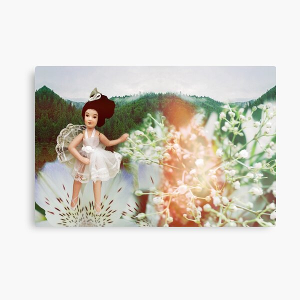 Dance with the flowers Metal Print