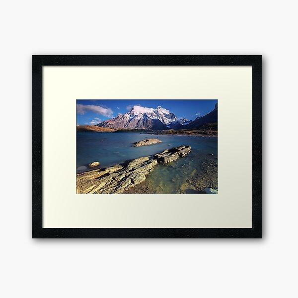 Morning Bay Framed Art Print