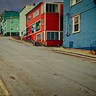 Colourful Streets of St John's by Yukondick
