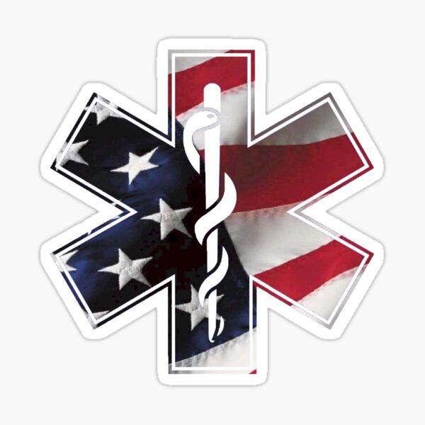 America EMS  Sticker