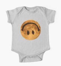 Upside Down Smiley To The Moon One Piece - Short Sleeve