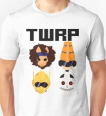 TWRP BLACK LOGO FANART Unisex T-Shirt