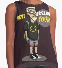 old nirvana fun forever young Contrast Tank