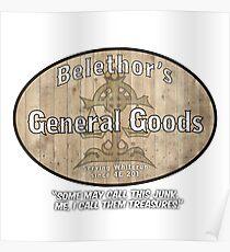 Belethor's General Goods Poster