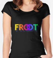 Froot// marina and the diamonds Women's Fitted Scoop T-Shirt