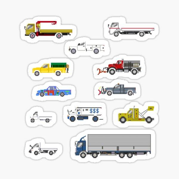 Trucks 2 - The Kids' Picture Show Sticker