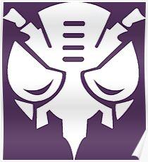 Beast Wars: Transformers Predacon Faction Symbol Poster