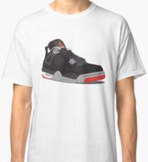 Air Jordan 4 Breds Classic T-Shirt