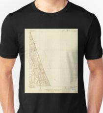 USGS TOPO Map Florida FL Matanzas 347375 1927 48000 Unisex T-Shirt