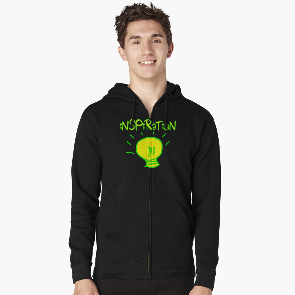 Inspiration Zipped Hoodie