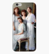 Colorized Romanoff Sisters, circa 1913-14 OTMA iPhone Case