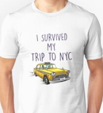 i survived my trip to nyc (high quality) T-Shirt