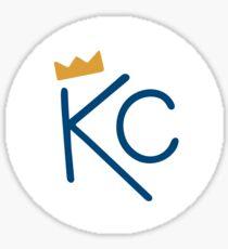 Kansas City Crown Sticker