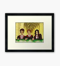 Prongs, Moony, Padfoot Framed Print
