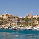 Mġarr Harbour, Gozo by Kasia-D