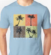 California Vintage Palms Summer  Unisex T-Shirt