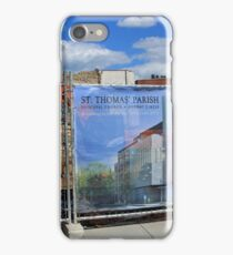 Building The New St. Thomas Parish Nearly Fifty Years After The Fire iPhone Case/Skin