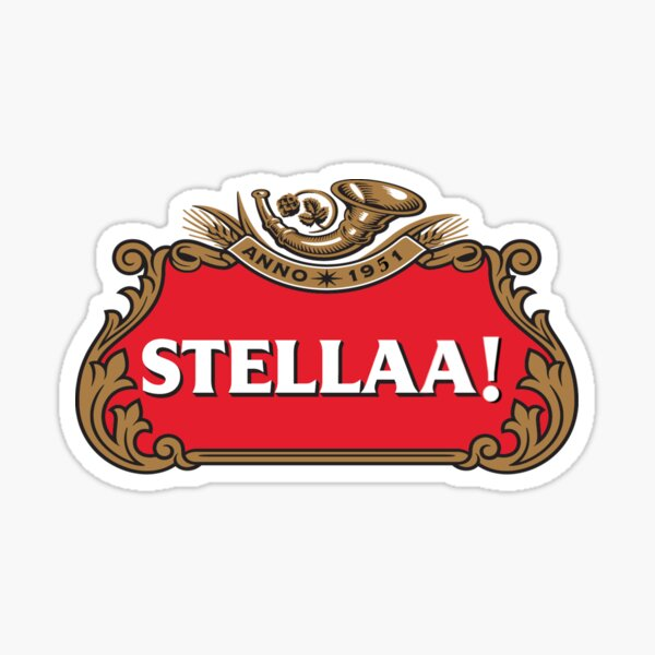 A Streetcar Named Desire Stella Logo Sticker