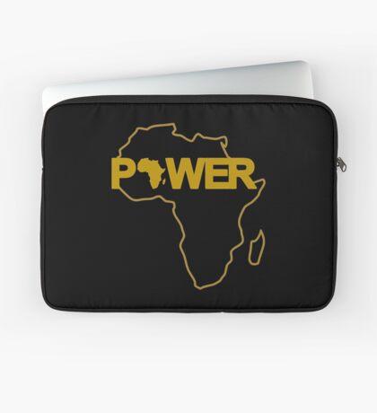 Black Power 3.0 Laptop Sleeve