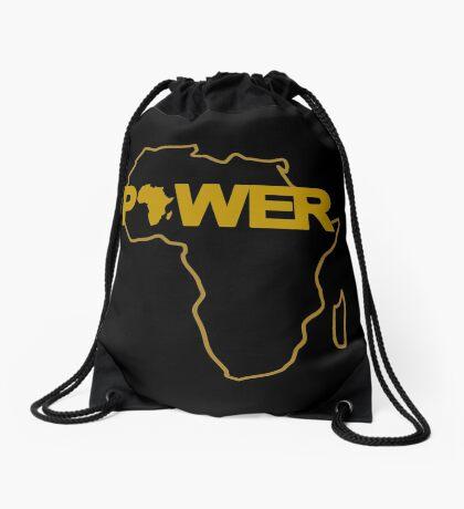 Black Power 3.0 Drawstring Bag