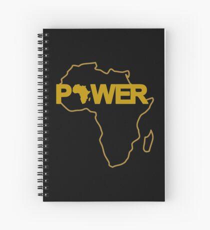 Black Power 3.0 Spiral Notebook