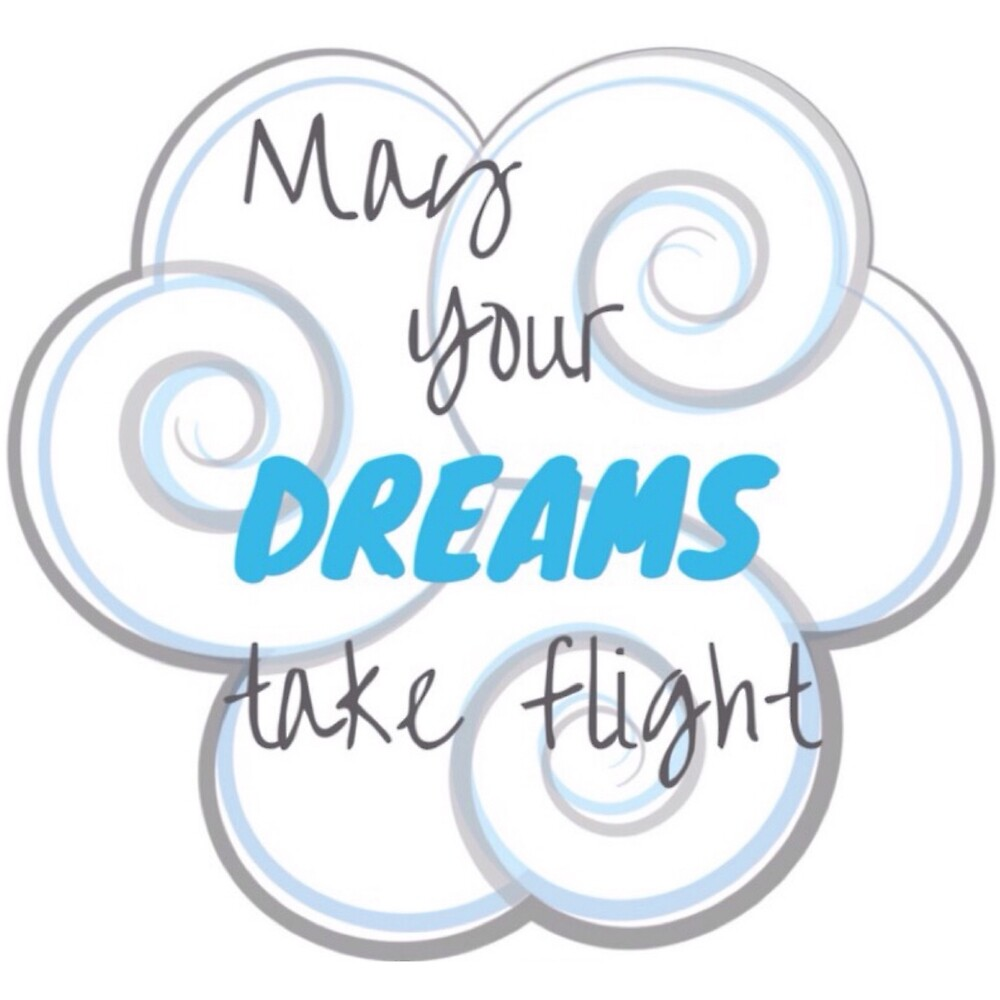 May Your Dreams Take Flight by Jacqueline Cooper