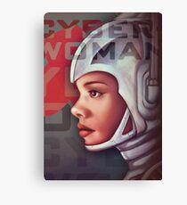 Cyberwoman Canvas Print