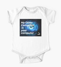 My Other Computer is Your Computer - Hacker Symbol One Piece - Short Sleeve