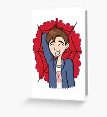 Peter Parker Greeting Card