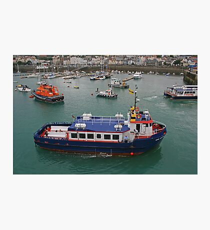Sark Venture, St Peter Port Harbour Photographic Print