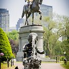 George at the Common by Jim Felder