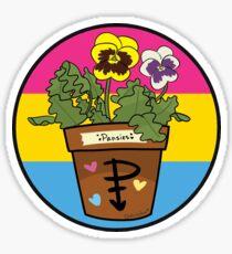 Plant Pride!! - Pansies Sticker