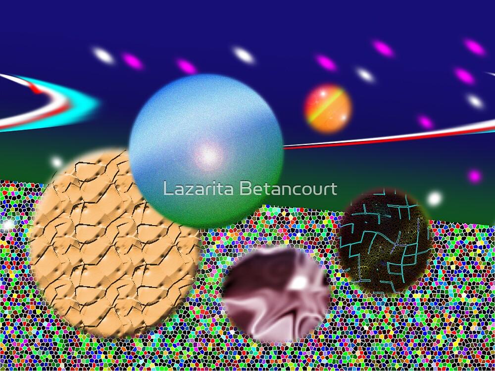 Saturns Soster by Lazarita Betancourt