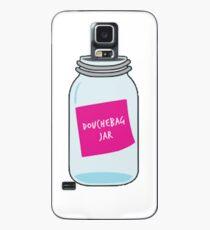 Douche bag jar Case/Skin for Samsung Galaxy