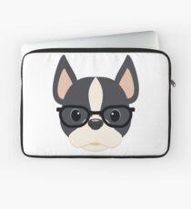 Nerdy Boston Terrier Laptop Sleeve