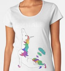 Unicorn Yoga Women's Premium T-Shirt