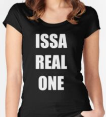 Issa Real One Women's Fitted Scoop T-Shirt