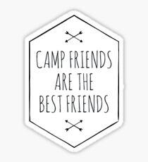 CAMP FRIENDS Sticker