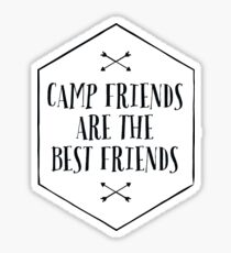 CAMP FRIENDS Sticker
